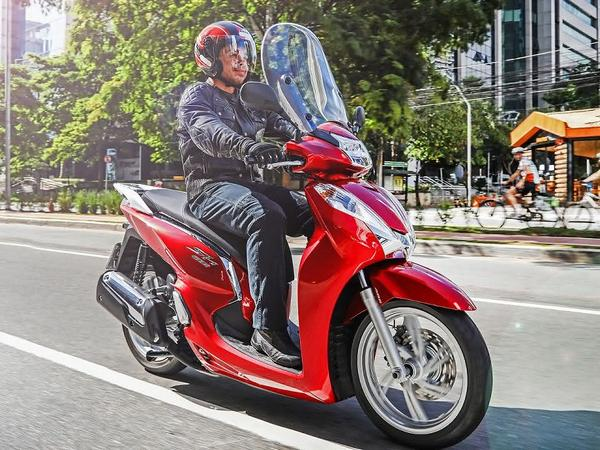 New Honda SH 300i 2021
